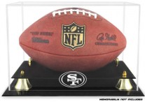 San Francisco 49ers Classic Football Ball Display Case