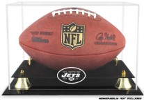 New York Jets Classic Football Ball Display Case