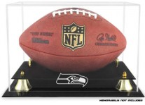 Seattle Seahawks Classic Football Ball Display Case