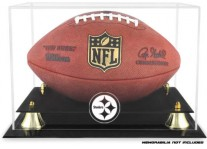 Pittsburgh Steelers Classic Football Ball Display Case
