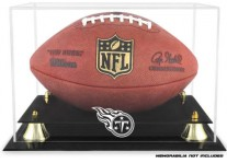Tennessee Titans Classic Football Ball Display Case