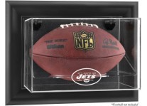 New York Jets Wall Mount Football Ball Display Case