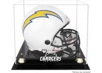 Classic San Diego Chargers Helmet Display Case