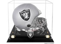 Classic Los Vegas Raiders Helmet Display Case