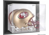 San Francisco 49er's Wall-Mounted Helmet Display Case