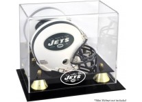 Classic New York Jets Mini Helmet Display Case