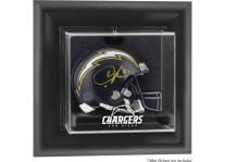 San Diego Chargers Wall Mounted Mini Helmet Display Case