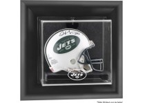 New York Jets Wall Mounted Mini Helmet Display Case