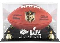 Kansas City Chiefs Super Bowl LIV 54 Championship Football Case