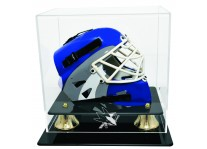 San Jose Sharks Goalie Mini Hockey Helmet Display - ...