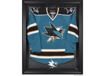 San Jose Sharks Jersey Display Case