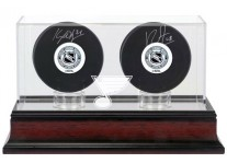 St. Louis Blues Double Hockey Puck Display Case