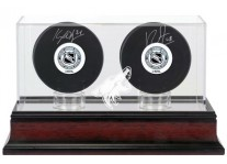 Arizona Coyotes Double Hockey Puck Display Case