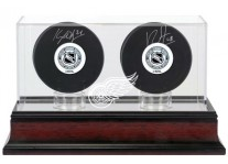 Detroit Red Wings Double Hockey Puck Case
