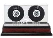 Dallas Stars Double Hockey Puck Display Case