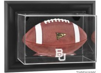 Baylor Bears Wall Mounted Football Display Case - Choice Of ...