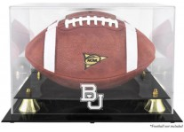 Baylor Bears Football Display Case With Risers