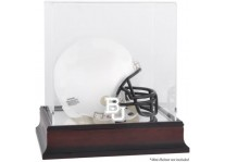 Baylor Bears Mahogany Mini Helmet Display Case