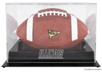 Illinois Fighting Illini Football Display Case