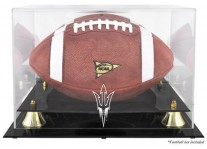 Arizona State Sun Devils Football Display Case With Risers