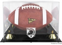 Army Black Knights Football Display Case With Risers