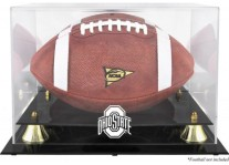 Ohio State Buckeyes Football Display Case With Risers