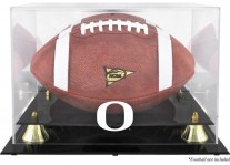 Oregon Ducks Football Display Case With Risers