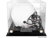Illinois Fighting Illini Helmet Display Case