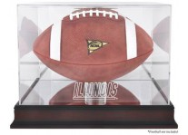 Illinois Fighting Illini Football Case - Mahogany Base
