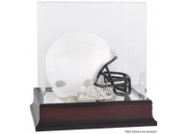 Illinois Fighting Illini Mahogany Mini Helmet Display Case
