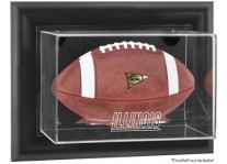 Illinois Fighting Illini Wall Mounted Football Display Case ...