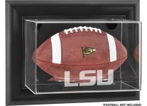 LSU Tigers Wall Mounted Football Display Case - Choice Of ...