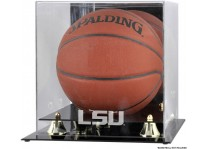 LSU Tigers Basketball Ball Case With Risers