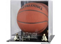 Illinois Fighting Illini Basketball Ball Case With Risers