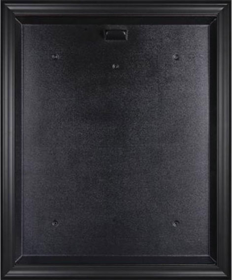 blank jersey display case