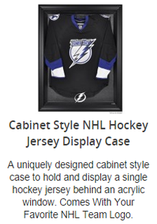 NHL Hockey Jersey Display Case