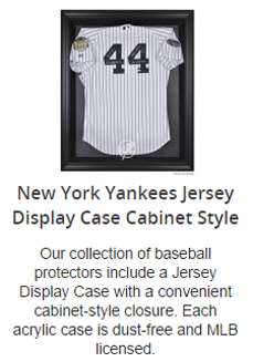 New York Yankees Jersey Display Case